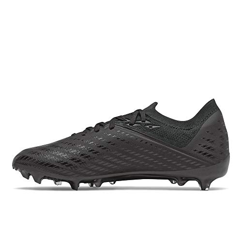 New Balance Men's Furon Destroy FG V7 Soccer Shoe, Black/Gunmetal, 9.5 Wide