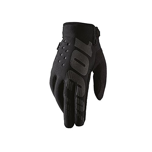 100% Erwachsene Brisker Handschuhe, Schwarz, M