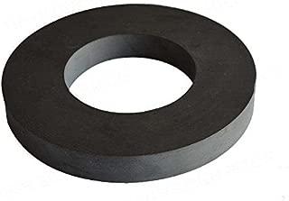 Ferrite Ring Magnet, 4In Dia, Ceramic for Science Experiment