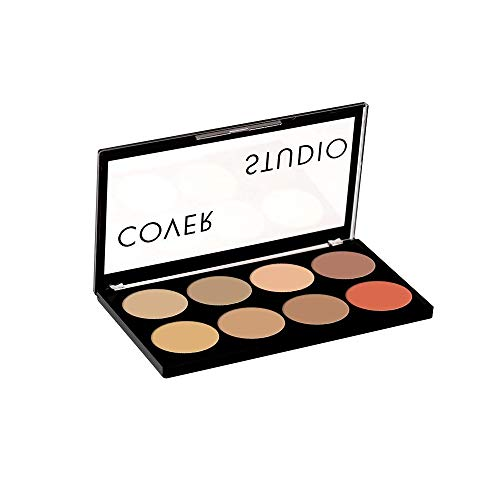 Swiss Beauty Ultra Base Concealer Palette, Face MakeUp, Multicolor-01, 16g
