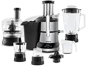 Arshia Stainless Steel Centrifugal Juice Extractor,Black - JE014-2435
