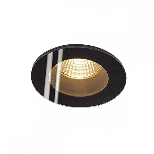 SLV PATTA-F Leuchte Outdoor-Lampe Aluminium/Glas Schwarz Lampe außen, Aussen-Lampe