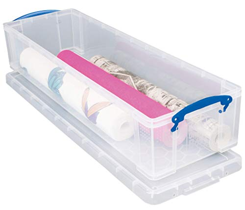 Really Use Box 22CCB Aufbewahrungsbox 22 Liter, transparent