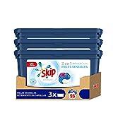 Skip Ultimate Detergente en Cápsulas Pieles Sensibles 32 lavados - Pack de 3