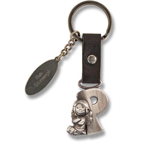 Schutzengel Schlüsselanhänger Buchstabe P