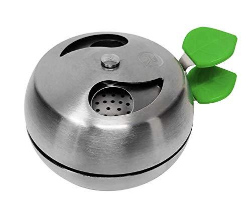Ethereal Hookah - Gestione del calore per narghilè o narghilè - Accessorio premium per Hookah - Compatibile con pentole tradizionali e Phunnel - Prestazioni e durata del carbone - Alluminio