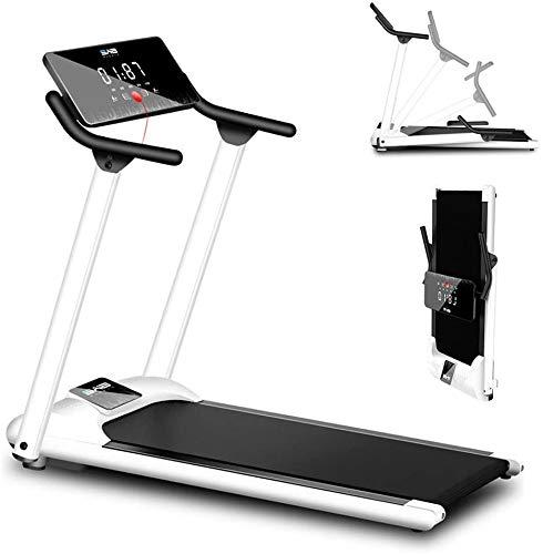 SAFGH Cinta de Correr eléctrica Cinta de Correr Profesional Inclinada Caminar Correr Máquina de Jogging para Oficina en casa Plegable hasta 130 kg Pantalla LCD Equipo silencioso para el hogar