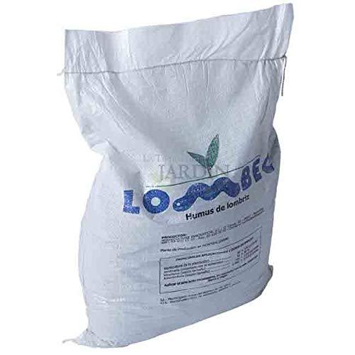 Suinga ABONO Fertilizante ORGANICO Humus DE LOMBRIZ, Saco 15 Kg - 25 litros. Apto para Agricultura...