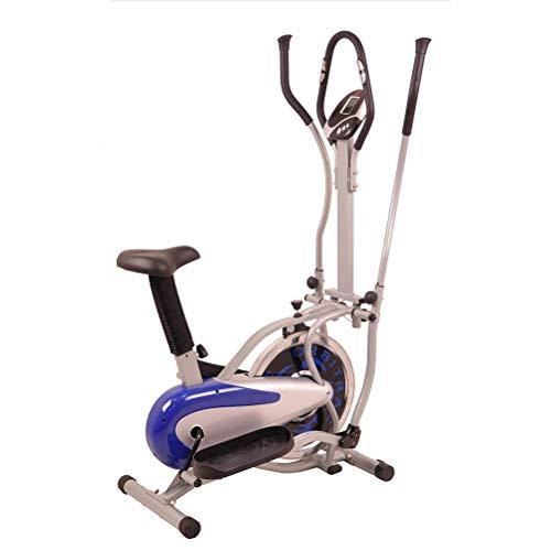 Faltbare MountainBike Crosstrainer, 2 in 1 Elliptical Machine, Hand und Fuß Linkage Bike, Spinning Bike, 100 kg Gewicht tragende Ellipsentrainer, Fitness-Bike, Geeignet for alle Gruppen von älteren Me