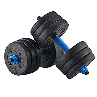 Amazon - Save 75%: US Stock 40 Kg (88 Pound) Adjustable Weights Dumbbells Set, Free Weigh…
