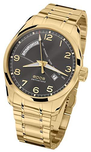 EPOS Collection Passion 3402, placcato oro, nero, Ø 43 mm