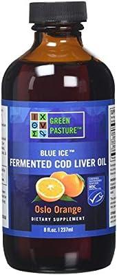 Green Pasture Blue Ice Fermented Cod Liver Oil - Oslo Orange (237ml)