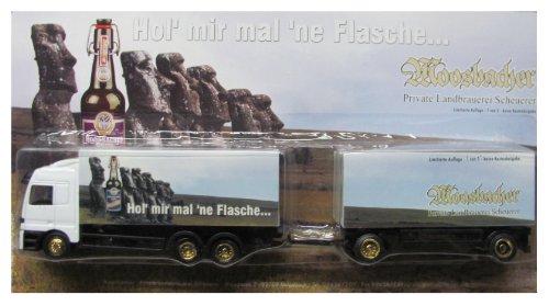 Moosbacher Nr.12 mal ´ne Flasche .... - MB Actros - Hängerzug