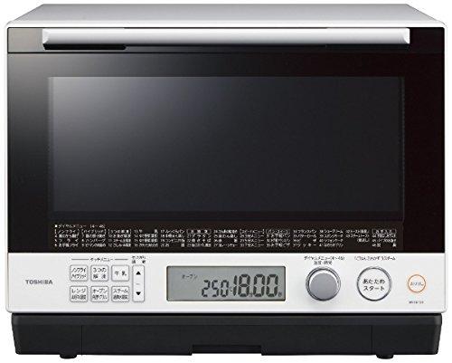 東芝 30L 過熱水蒸気オーブンレンジ 石窯ドーム ER-SD100-W グランホワイト 1段