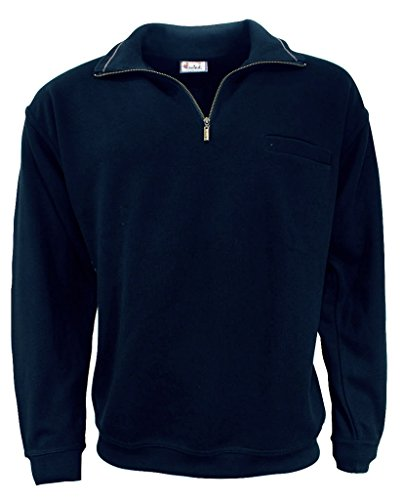 wind sportswear Herren Sweattroyer Größe S Blau (blau)