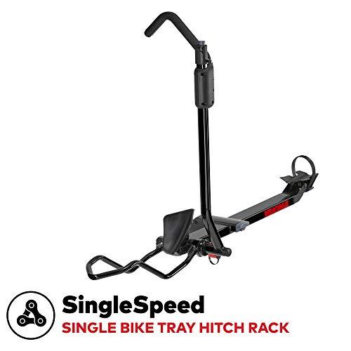 YAKIMA - SingleSpeed Lightweight Single Bike Tray Hitch Rack, 1 Bike Capacity