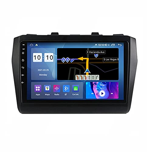 ADMLZQQ Android 10 Car Reproductor estéreo para Suzuki Swift 5 2016-2020 navegación GPS Radio Enlace Espejo/FM/Control del Volante/Bluetooth/cámara de visión Trasera,M150s