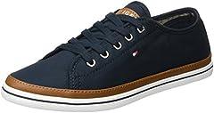 Tommy Hilfiger K1285esha 6d, Zapatillas para Mujer, Azul (Midnight 403), 38 EU