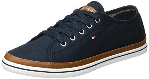 Tommy Hilfiger Damen K1285ESHA 6D Sneaker, Blau (Midnight 403), 41 EU