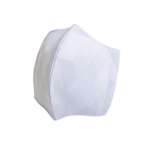 レワード(Reward) AC106 シルバー M 日本製 サマークールマスク 野球ユニフォームメーカーが作った洗える立体布マスク 裏メッシュ素材 銀イオン効果(防臭/抗菌) 国内生産(浜松工場)
