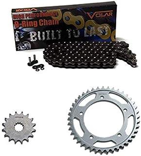 O-Ring Chain and Sprocket Kit Black 2006-2015 Triumph Bonneville T100 Black