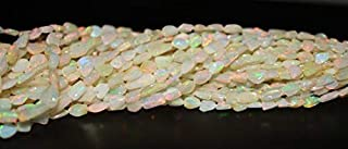 Jewel Beads Natural Beautiful jewellery Natural ETHIOPIAN OPAL Tumble Plain Beads / 3.0-8.0 mm /16 inchCode:- JBB-35636