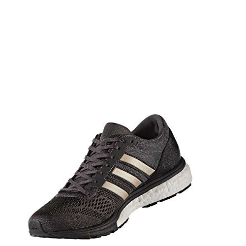 adidas Adizero Boston 6 W, Zapatillas de Running para Mujer, Negro (Neguti/Metpla/Negbas), 36 EU