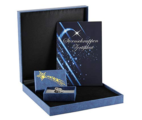 Budawi® - Geschenkset Sternschnuppe Meteorit inkl. Karte (Zertifikat) in Geschenkbox