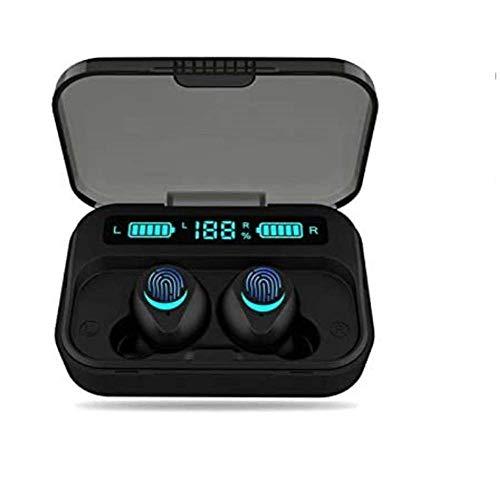 Auriculares inalámbricos Bluetooth Huyeta Auriculares verdaderamente inalámbricos con Auriculares de Sonido estéreo 3D Auriculares Deportivos inalámbricos para teléfonos Inteligentes Android iOS (7)