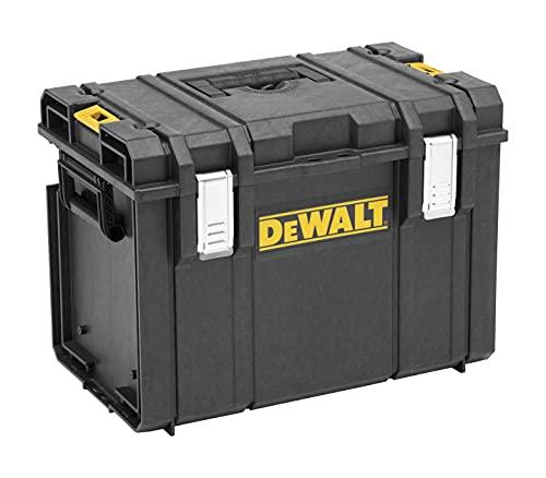 Dewalt Tough DS400 1-70-323, Caja espaciosa y Profunda para Herramientas, Negro