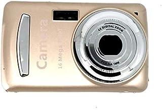 XJ03 Prácticas duraderas para niños Cámara fotográfica Digital compacta de 16 Millones de píxeles Cámara portátil para niños niñas y niños - Oro