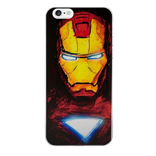 iPhone 5/5s Cómic Carcasa de Telefono / Cubierta para Apple iPhone 5s 5 SE / Protector de Pantalla y Paño / iCHOOSE / Iron Man