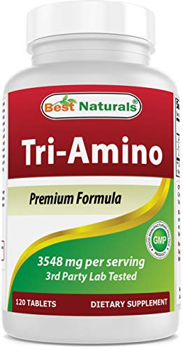 Best Naturals Tri-Amino with L-Arginine, L-Ornithine, L-Lysine 120 Tablets