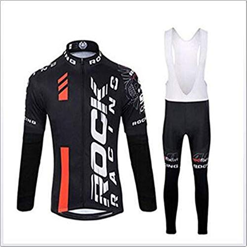 Trajes de ciclismo de manga larga para hombre, transpirables, de manga larga, para ciclismo, para equipos profesionales, ropa para hombres y mujeres, medias universales para bicicleta