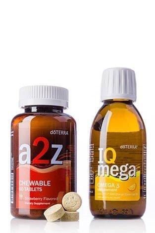 doTERRA A2Z Chewable/IQ Mega Pack