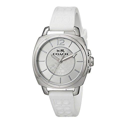[コーチ]時計 レディース ボーイフレンドミニ 34MM シグネチャー クォーツ ホワイト ホワイト COACH 14502093 [並行輸入品]