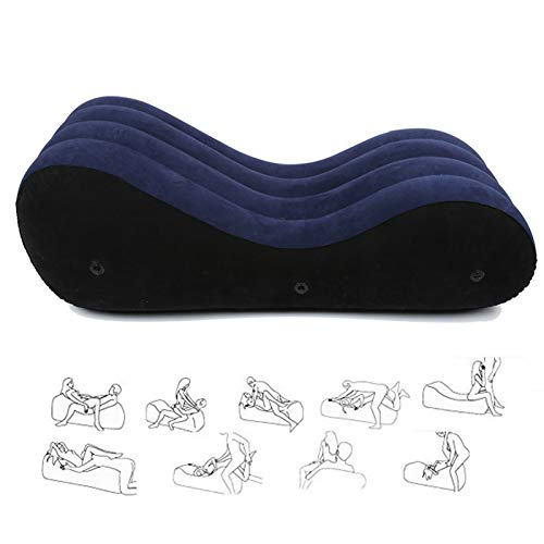 WXZDQ Sofá Inflable, Chaise Longue/Silla de Yoga Relax, Sofá Inflable para Parejas,...