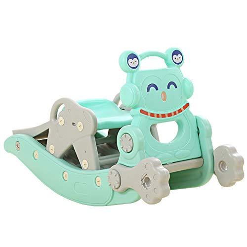 YULAN Baby Age Gift grote verdikking 1-6 jaar oude schommelstoel houten paard