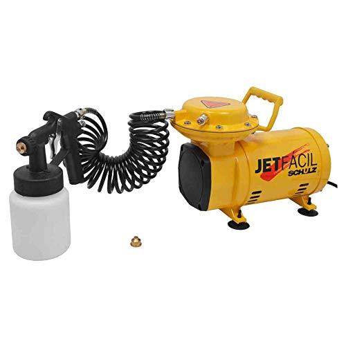 Compressor ar direto baixa pressão 2,3 pés com 2 acessórios - JET FÁCIL