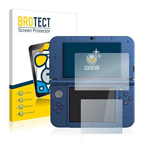 brotect Pellicola Protettiva Opaca Compatibile con Nintendo New 3DS XL Pellicola Protettiva Anti-Riflesso (2 Pezzi)