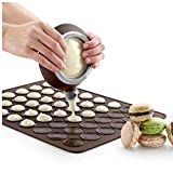 Silicone Macaron Cake Decorating Tips Sets Baking Tools Chocolate Pen 4 Icing Piping Nozzles Included