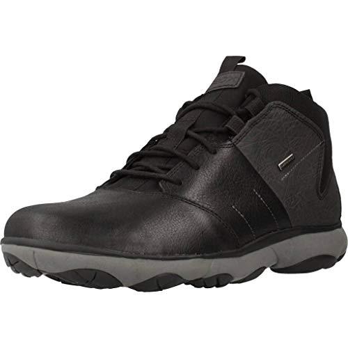 Geox Herren High-Top Sneaker Nebula 4X4 ABX, Männer Sneaker,Sportschuh,Sneaker-Stiefelette,mid-Cut,atmungsaktiv,Coffee/MUD,40 EU / 6.5 UK