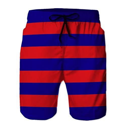 Xunulyn Sports Swim Board Shorts Pantaloncini Casual Estivi da Uomo Bandiera della Catalogna in Spagna