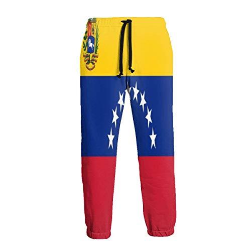 Cute Bi Venezuela Flag Pantalones de Chándal para Hombre Pantalones Deportivos Pantalones Deportivos Pantalones Deportivos
