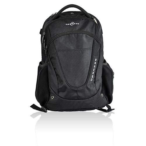 Obersee Oslo Diaper Backpack Black