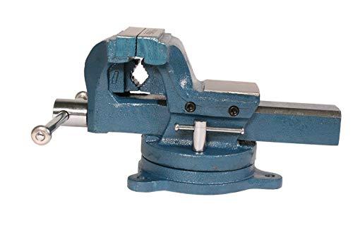 WELDINGER Schraubstock pro 100 mm Backenbreite 360° drehbar Rohrspannbacken