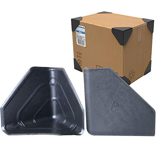 ToToT 16pcs Frame Corner Protectors 60 Type Handcraft Packaging Plastic Protector for Express Box Packaging