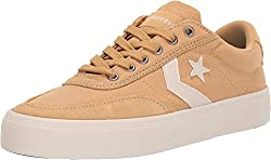 cheap Converse Low Top Coat Land Canvas Men's Converse Sneakers Club Gold / White / Natural Ivory 10MUS