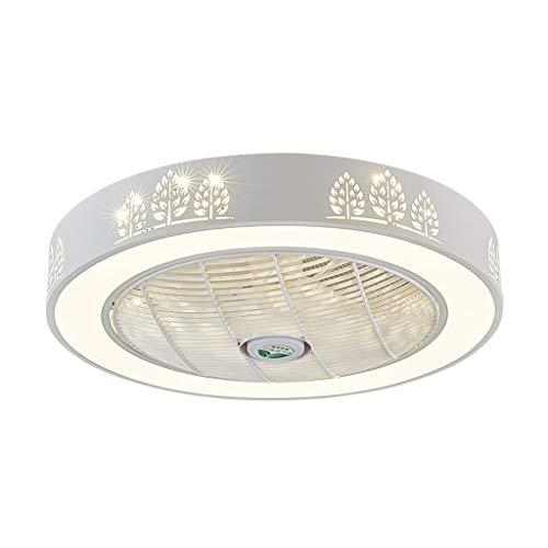 GXT Ventilador de techo luz 60cm restaurante ventilador de techo luz salón dormitorio silencioso ventilador de techo luz suave