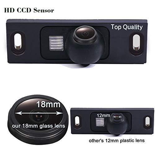 HDMEU Troisième caméra de frein de toit pour Saab 92 93 94 95 97 9x 2002–2012 Subaru Liberty Forester Wagon 2012 2013